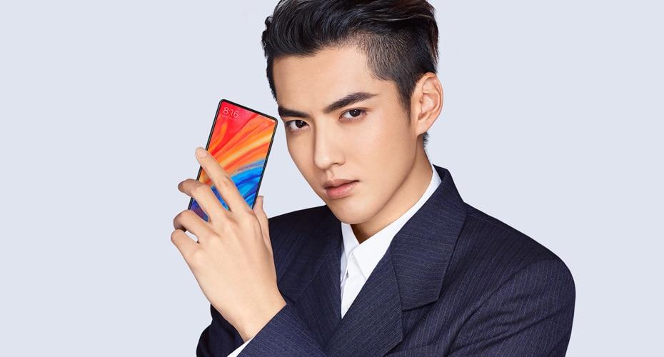 """2018 new Xiaomi Mi Mix 2S Snapdragon 845 6GB 64GB 5.99"""" Full Screen Smartphone 4G NFC Dual PD Camere 7.5W Qi Wireless Charging"""