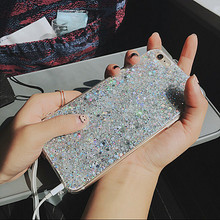 Crystal Sparkles Soft Cover Case for iPhone 7, 8