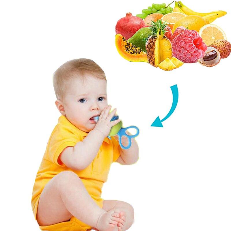 1Pcs Baby Pacifier Fresh Food Milk Nibbler Feeder Kids Nipple Feeding Safe Baby Supplies Nipple Teat Pacifier Bottles Nibbler