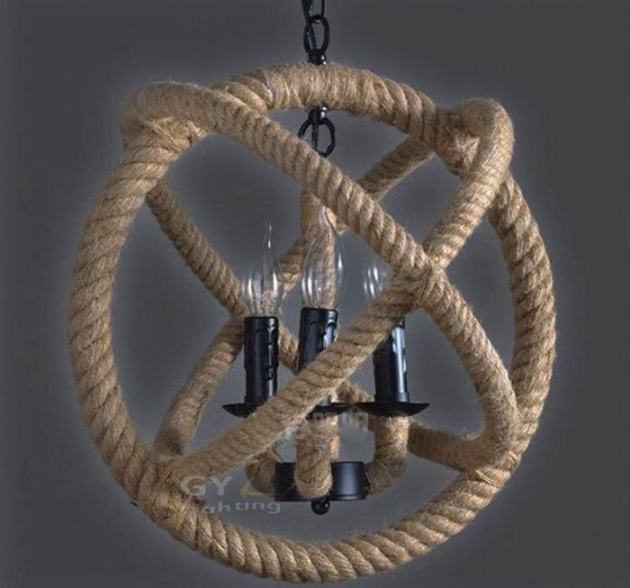 rope 36 lights art deco pendant lights rustic nautical hanging fixture orb wrap western pendant lamps lighting fixture itemsin pendant lights from lights
