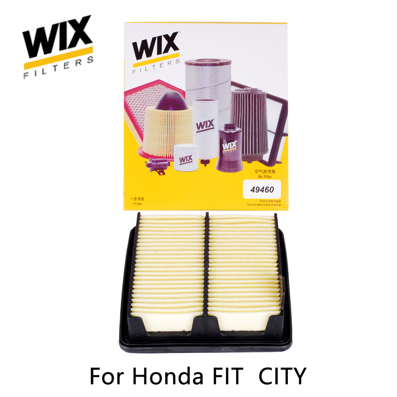 WiX car air Filter 49460 for Honda FIT CITY auto part