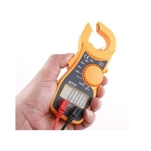 New High LCD Digital Multimeter Electronic Automatic Tester Accurate Durable Voltage Current Tester AC/DC CLAMP Meter -- JDH99 high quality mt87 lcd auto digital multimeter electronic voltage tester ac dc clamp transistor meter diagnostic tool