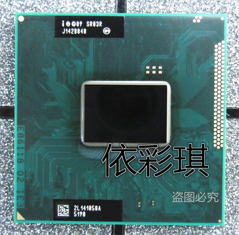 Prix pour Intel Core i7-2640M 2.8 GHz Dual Core 4 MB CPU Pour Ordinateur Portable Processeur i7 2640 M SR03R