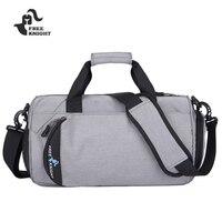 Durable Fitness Gym Bag Women Men Travel Shoulder Bag With Shoes Storage Waterproof Training Handbag Luggage