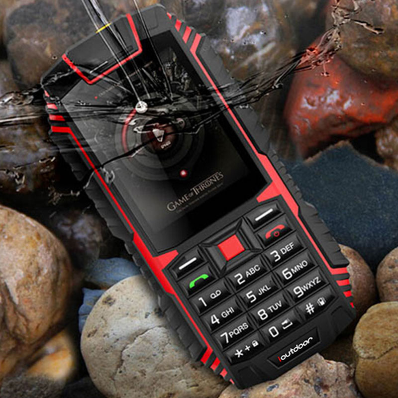 Image 5 - XGODY ioutdoor T1 2G Feature Phone IP68 Shockproof cep telefonu 2.4''128M+32M GSM 2MP Back Camera FM Telefon Celular 2G 2100mAh-in Cellphones from Cellphones & Telecommunications