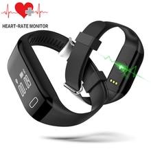 2017 Professinal Smart Браслет монитор сердечного ритма фитнес-трекер активности браслет Смарт часы для IPhone Galaxy S6 S7