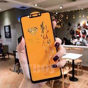 Image 4 - 6D Premium Gehärtetem Glas Für Xiaomi Pocophone F1 Redmi 6 Pro A1 A2 Schutz Glas Für Xiaomi Redmi Hinweis 6 screen Protector