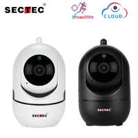 SECTEC 1080 P Copertura Wireless IP Camera Intelligent Auto Tracking Di Umani Casa CCTV di Sorveglianza di Sicurezza di Rete Wifi Cam