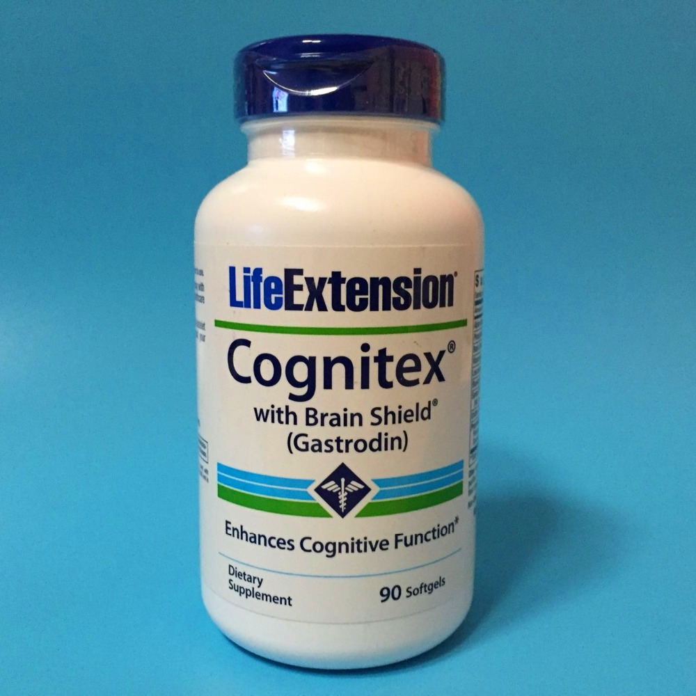 Free shipping Cognitex with Brain Shield Gastrodin 90 pcs