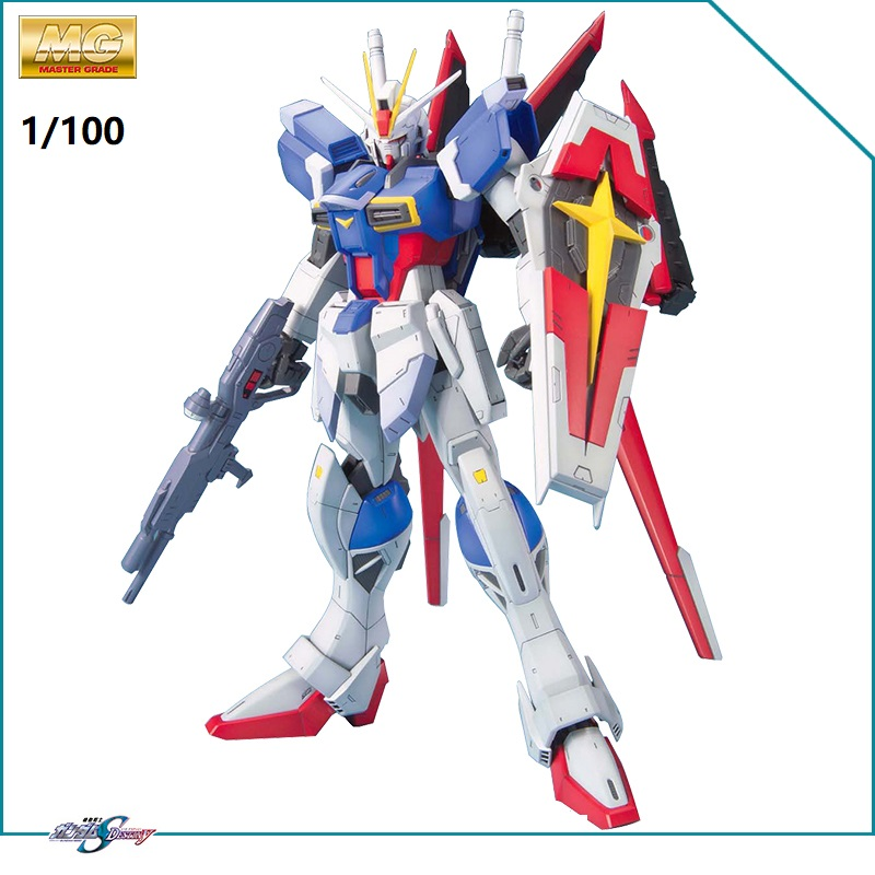 Original MG 1/100 Gundam Model ZGMF-X56A Force Impulse SEED Destroy Armor Unchained Mobile Suit Kids Toys