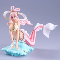 Anime One Piece Glitter & Glamours Princess Shirahoshi PVC Action Figures Collection Model Toys Doll 15cm