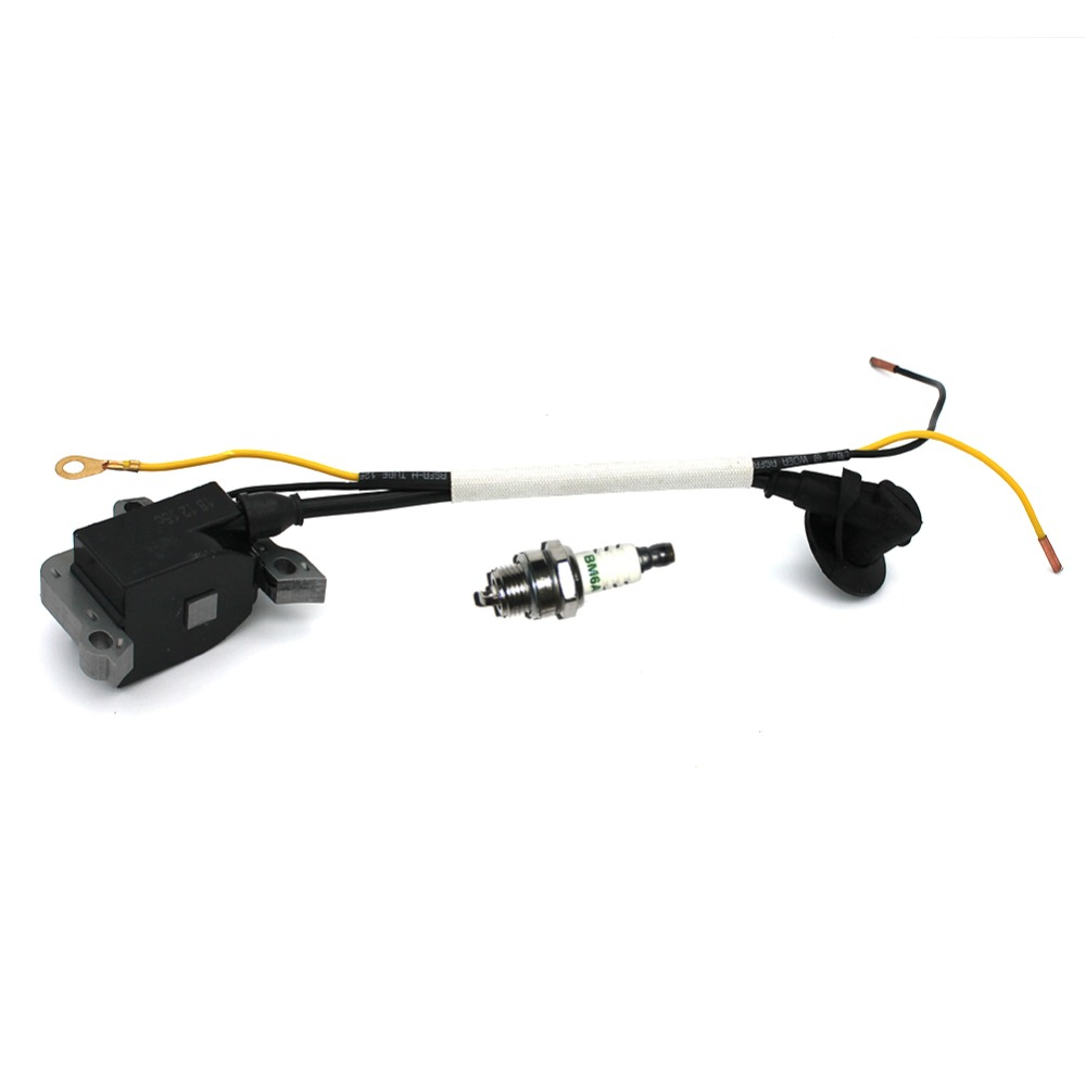 Tools : Ignition Coil Module Spark Plug BM6A For Stihl MS461 Chainsaw Engine Magneto Replacement Parts Oem 1128 400 1313 A
