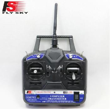 Genuine FlySky 2.4G 6CH Channel FS-CT6B Transmitter + Receiver Radio System Remote Controller RC Plane Helicopter Multirotor