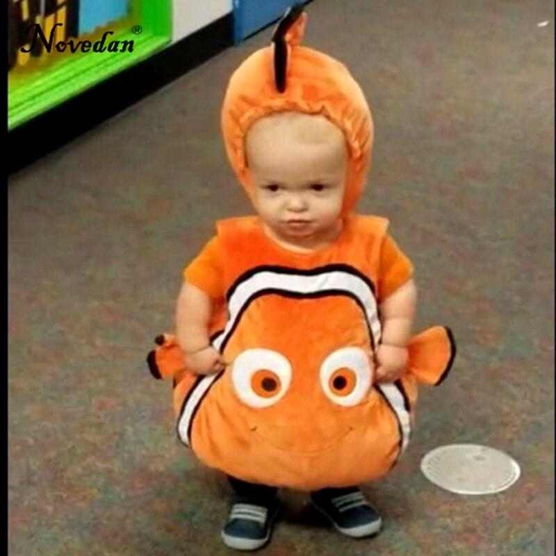 Image 3 - Nemo Costume Baby Kids Fish Clownfish From Pixar Animated Film Finding Nemo Halloween Christmas Cosplay Costume    -