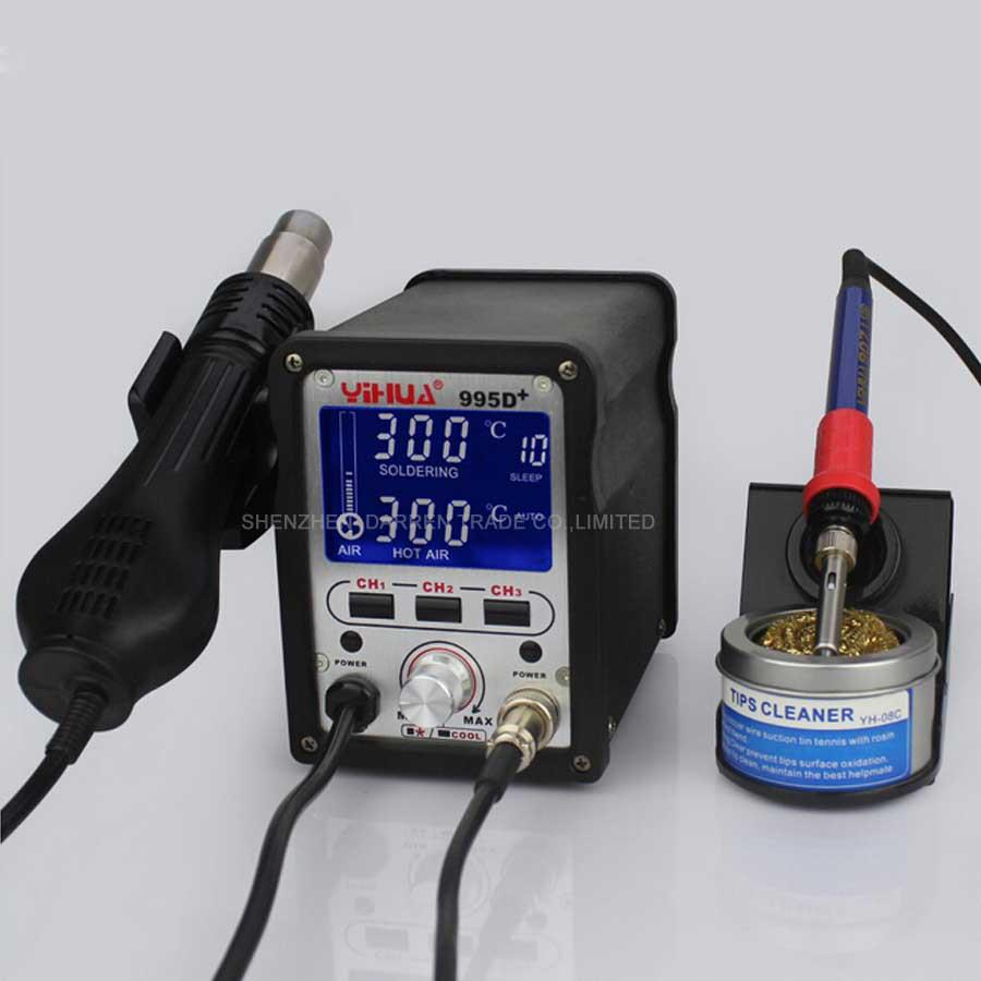 1 PC 110/220V 720W YIHUA 995D+ Soldering Station Used For Motherboard Repair Tools dhl yihua 995d soldering station used for motherboard repair tools 1pc