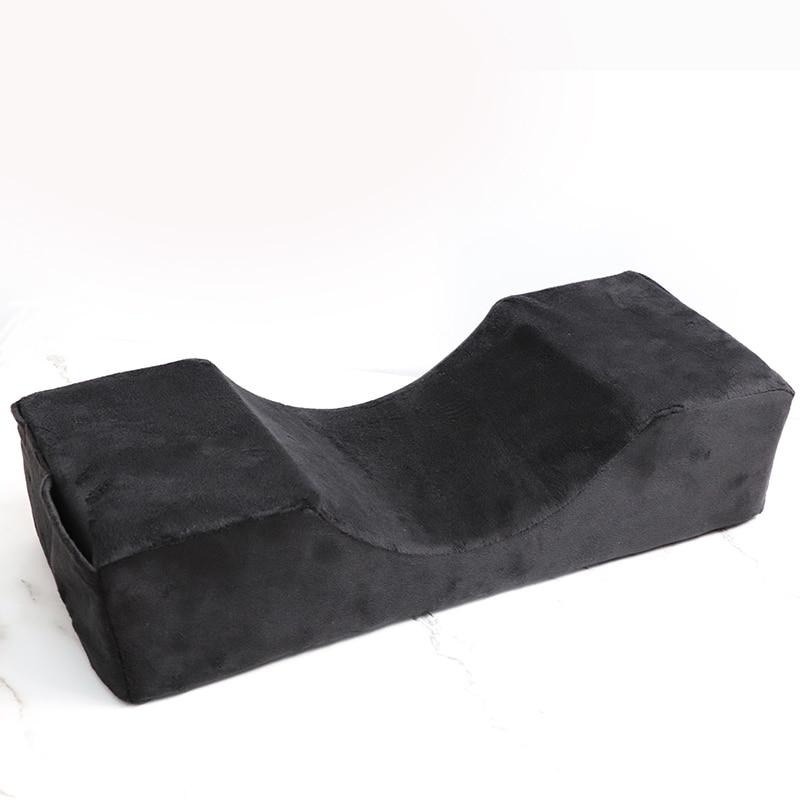 Professional Eyelash Extensionl Pillow, Pillow Stand Grafted Eyelashes Salon Use Memory Velvet pillow for eyelash extension