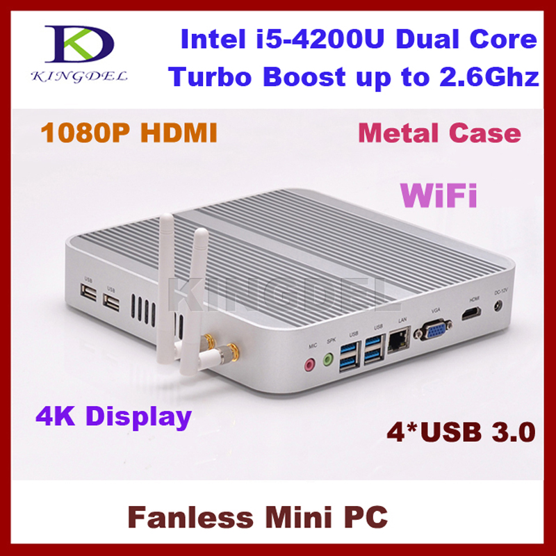 Red portátil mini pc core i54200u 1.6 ~ 2.6 ghz nettop con 8 gb de ram 64 gb ssd