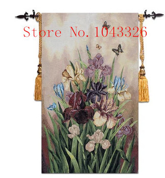 70x110cm Free Shipping Size Home Decor Pastoral Daffodil Paintings Classic Nostalgic Decorative Mural Tapestry Wall Hangings