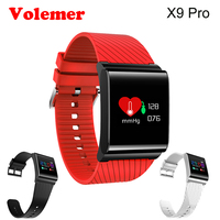 Volemer X9 Pro Color Screen Smart Bracelet Heart Rate Blood Pressure Oxygen Monitor Fitness Tracker SMS