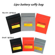 High Quality RC LiPo Battery Fireproof Safety Bag Safe Guard Charge Sack Lipo Guard Bag for RC Airplanes Helicopters Cars