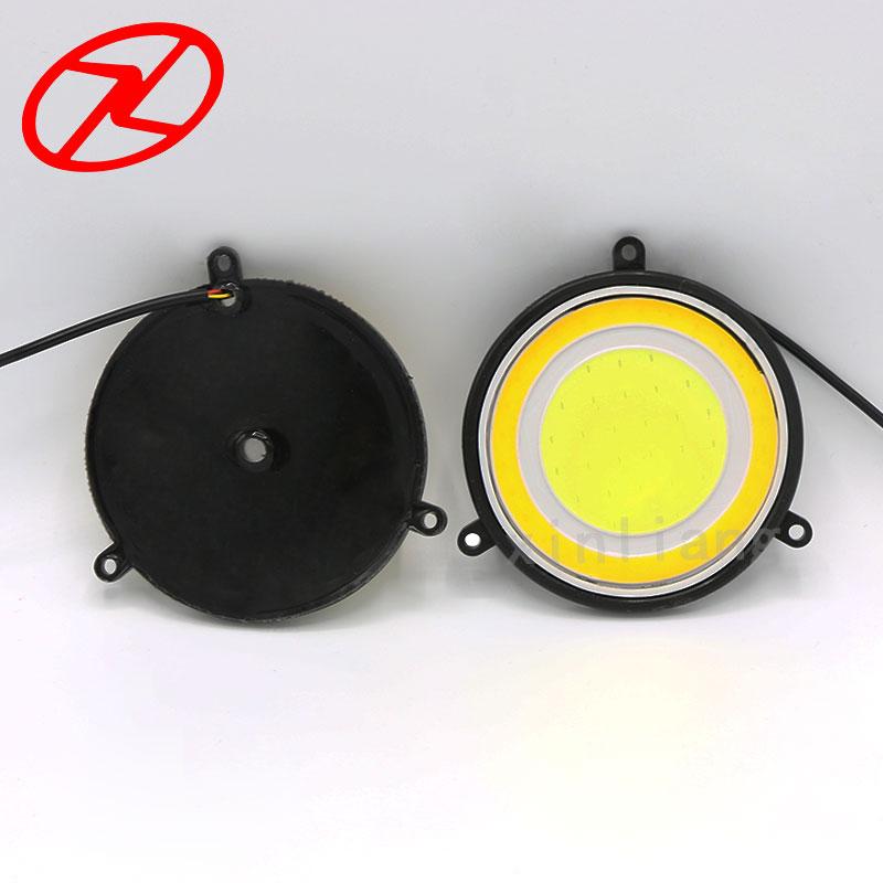 2X fuqi e lartë 90 mm Drejtuar dritës gjatë ditës Drita 12V e - Dritat e makinave - Foto 3