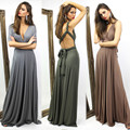 2017 new arrival beach style summer spring long dress sexy deep v neck slim backless female evening party maxi dress with sashes