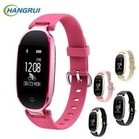 Women S3 Smart Bracelet Heart Rate Monitor Alarm Clock Waterproof Fitness Watch Tracker Pedometer Step Counter