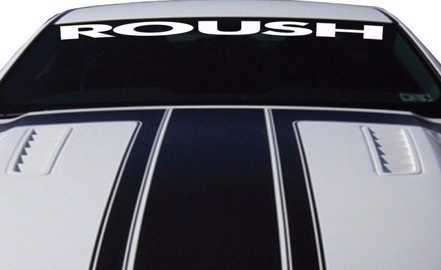 For Car Sticker Ford Mustang ROUSH Windshield Vinyl Decal Sticker - Custom vinyl decals for car windshield