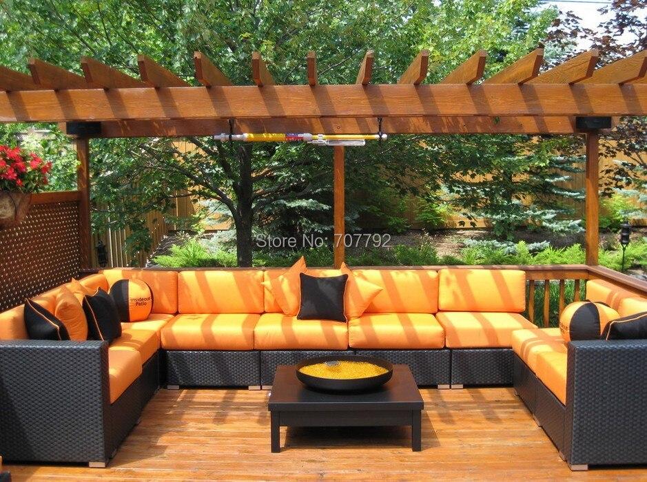 2015 Garden Furniture Rattan Sectional Corner 9 Seater Sofa Set. Online Get Cheap Rattan Corner Garden Furniture  Aliexpress com
