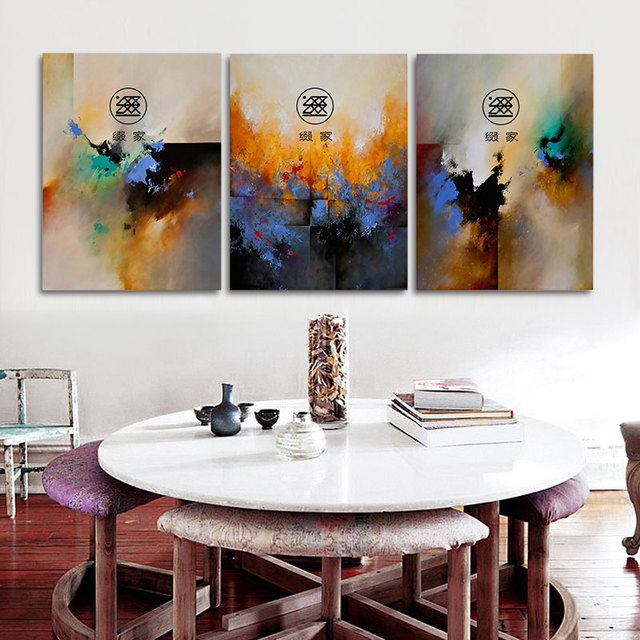 No Framed Abstract Printed Painting oil Painting By Numbers Oil ...