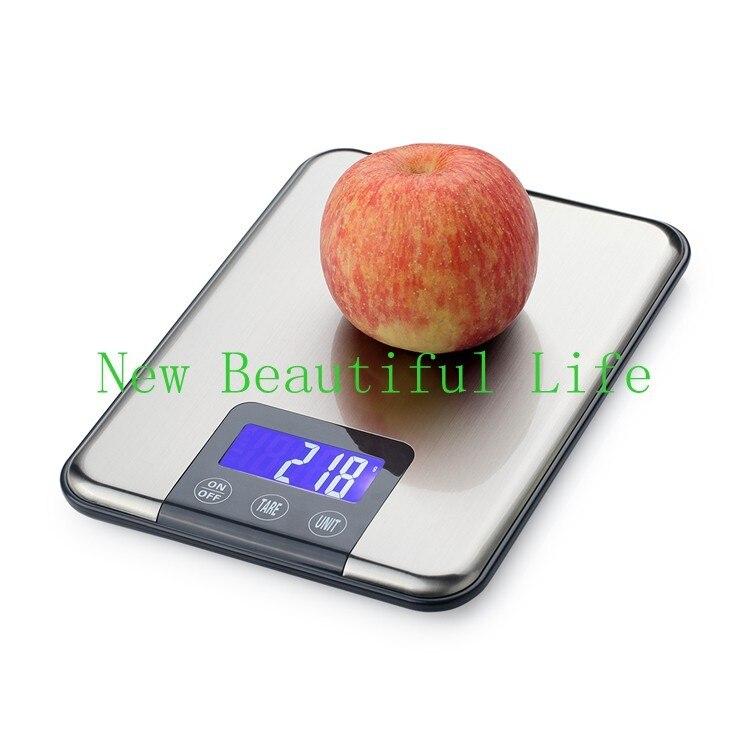 Inoxidável Fino 10 KG Food Diet Balanças