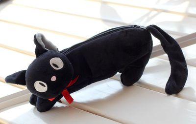 Zachte pluche leuke kat cosmetische tas dame girls 3D katten pop vorm pen opslag make pouch tassen voor vrouwen gift