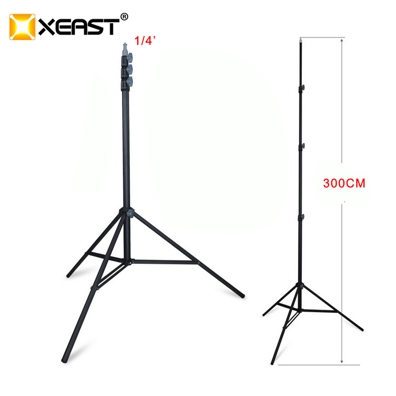 XEAST SPCC metal Tripod 300CM 3M Laser Level Tripod Nivel Laser Tripod for Laser Level Adjustable