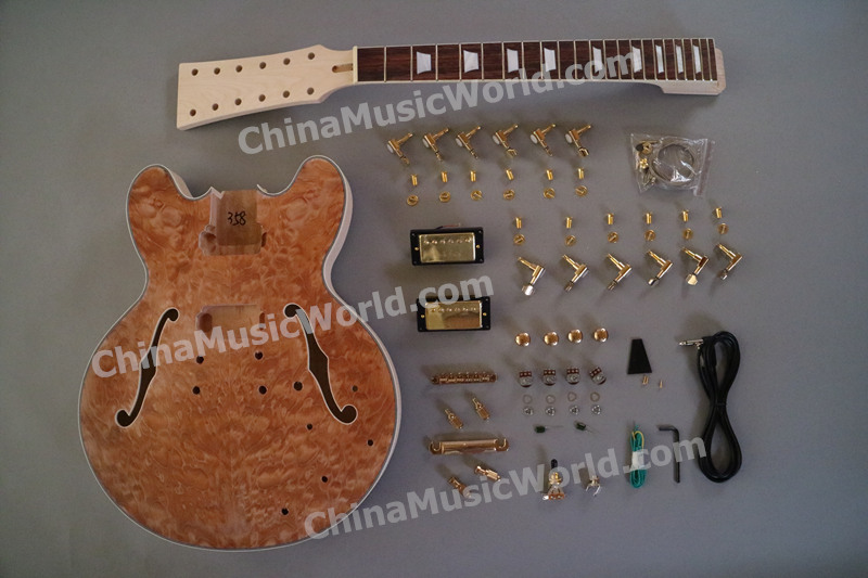 ES335 Style 12 Strings Quilted Maple Top AFANTI DIY Electric Guitar Kit AES335 12S In From Sports Entertainment On Aliexpress