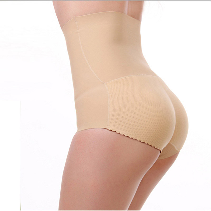 FLORATA USPS Dropship Sexy Women's Hip Padded Butt Lifter High Waist shaper Push Up Buttocks Lady Seamless Panties Underwear 4