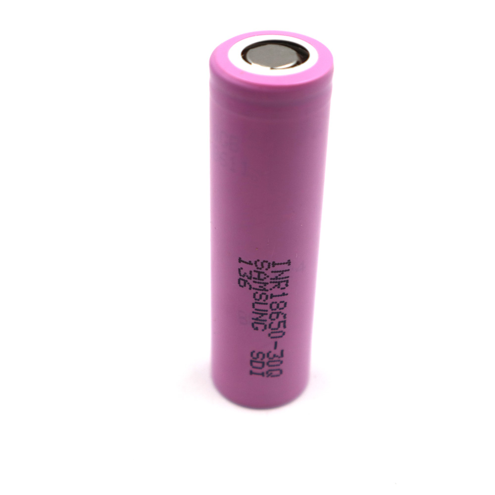 Li-ion 3000mAh 30Q 1pcs battery 18650 rechargeable battery,power tool battery,discharge current 15A,Li-ion battery