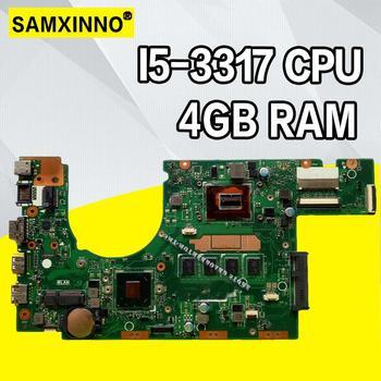 S300CA For ASUS S300CA VivoBook S300CA Laptop motherboard S300CA mainboard I5-3317U REV2.1 4G RAM new motherboard