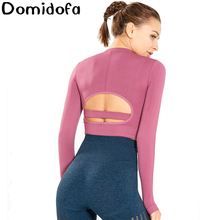 Motion Yoga Long Sleeve Woman Training Bodybuilding Clothes workout tops sports wear for women fitness gym sportswear
