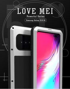 Image 5 - Dành Cho Samsung Galaxy Samsung Galaxy S10 Ốp Lưng 5G Love Mei Sốc Bụi Bẩn Không Thấm Nước Chống Giáp Kim Loại Bao Da Ốp Lưng Điện Thoại samsung Galaxy S10 5G