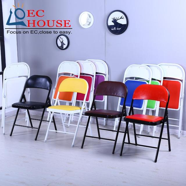 household foldable office meeting seat comter training cr  FREE SHIPPING