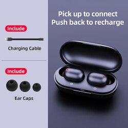 Haylou obustronne połączenia HD TWS bezprzewodowe słuchawki dla Huawei Xiaomi ios, BT5.0 doskonałą jakość dźwięku, bezprzewodowe słuchawki Bluetooth 4