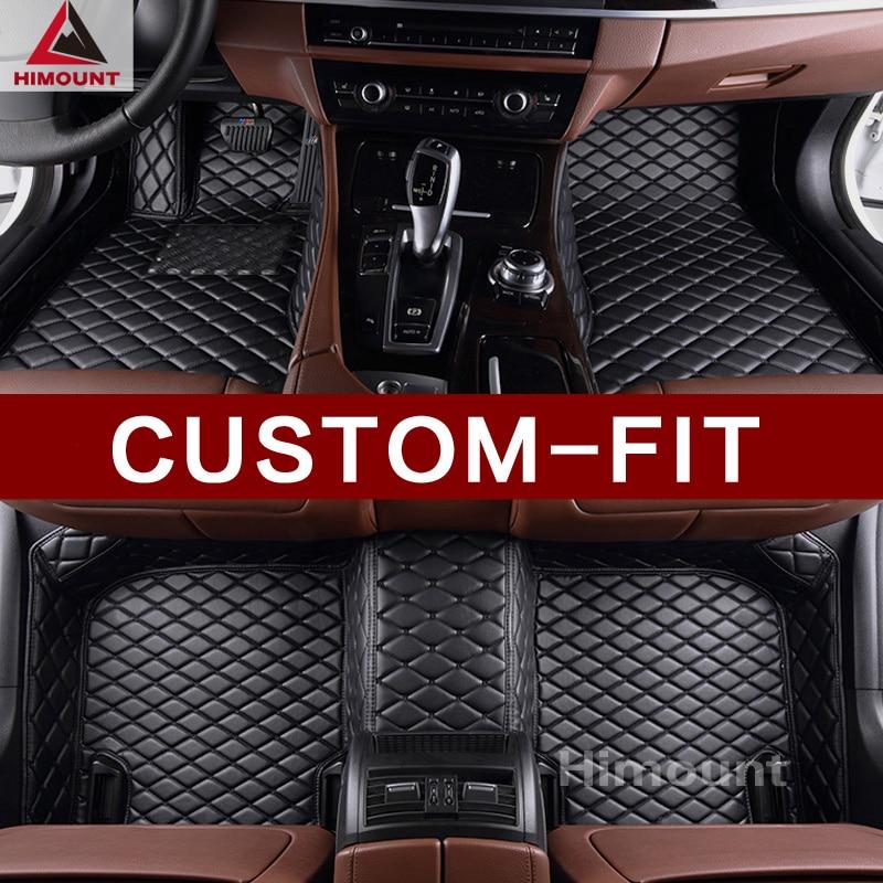 Custom made car floor mats for BMW 7 series E65 E66 F01 F02 G11 G12 5 series M5 E39 E60 E61 F10 F11 F07 G30 G31 carpet liners car led door logo projector ghost shadow light for bmw 3 5 6 7 m3 m5 e60 e90 f10 e63 f30 e64 e65 e86 e92 e85 e93 e61 f01 f02 gt
