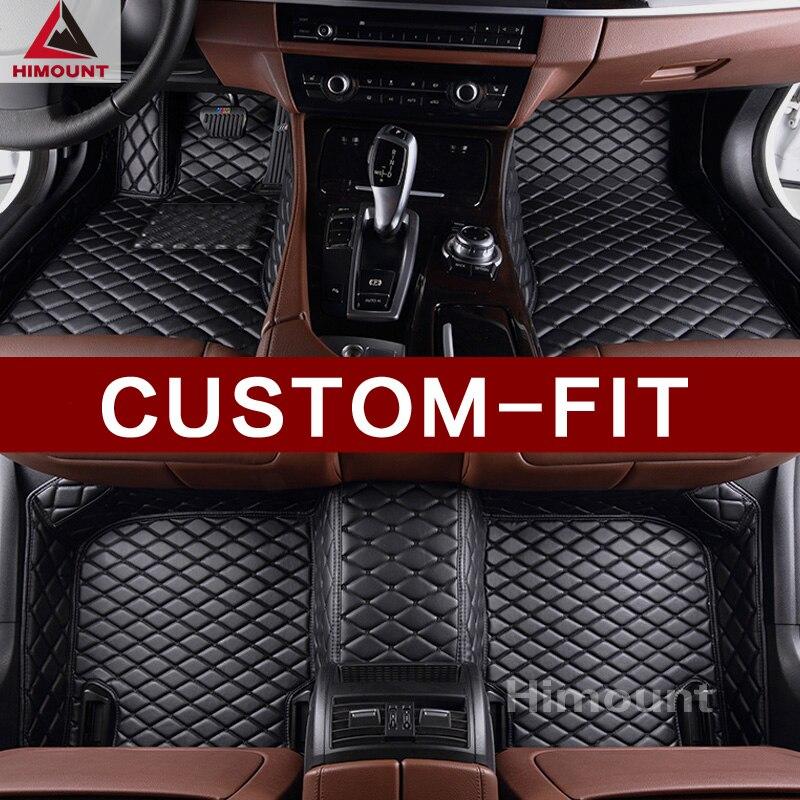 Custom made voiture tapis de sol pour BMW 7 série E65 E66 F01 F02 G11 G12 5 série M5 E39 E60 e61 F10 F11 F07 G30 G31 tapis liners