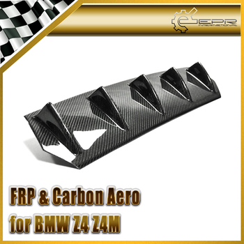 Car-styling For BMW 2002-2008 E85 E86 Z4 Z4M Roadster Carbon Fiber Rear Diffuser