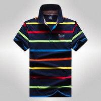 2017 Zomer Tace Shark Gestreepte Branded Mens Polo Shirts Strip Korte Mouw Designer Katoen Mannelijke Mannen Merk Polo Shirt Mode