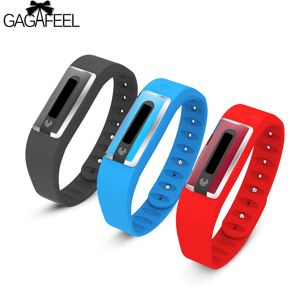 GAGAFEEL ID Smart Watches for IOS Android Pedometer Heart <font><b>Rate</b></font> Monitor Smart Bracelet for Woman Man