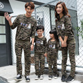 Spring Autumn Family Matching Clothing Camouflage Family Sweatshirt Matching Mother And Daughter Clothes Sets Sweater Trousers