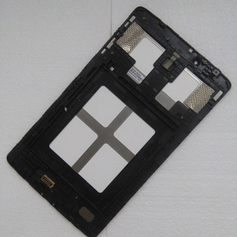 For LG G Pad 8.0 V480 V490 Black Touch Screen Digitizer Panel Glass + LCD Display Panel Monitor Assembly Frame for lg g pad 8 0 lg v480 v490 lcd display monitor touch panel screen digitizer glass assembly for v480 lcd display