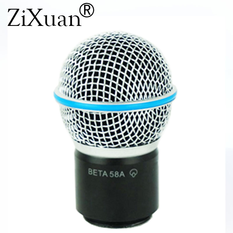 Replacement Cartridge Capsule Head For Shure BETA58A PGX2 PG4 SLX2 SLX4 Wireless Microphone System
