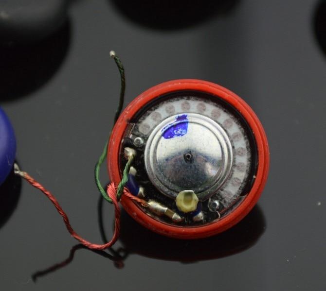 Original Doppel-Moving-Coil-Einheit 15mm Lautsprechereinheit HIFI PB-Einheit zerlegter Lautsprecher 1 Paar = 2St